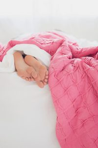 Getting more sleep helps ADHD symptoms.